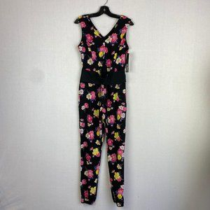 XOXO Floral Jumpsuit NWT